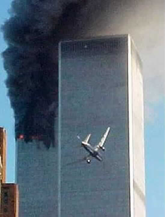 Seconds before South Tower Strike