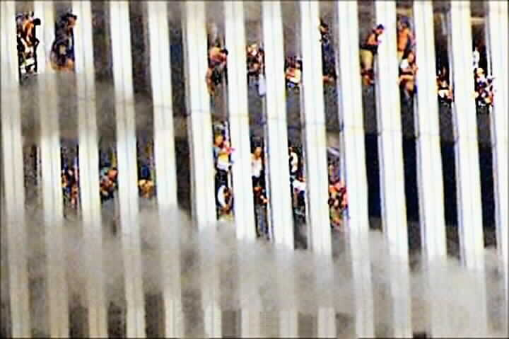 World Trade Center Jumpers Bodies 2001 - world trade center