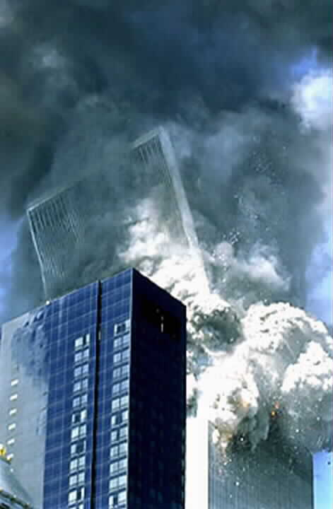 WTC South Tower Collapse